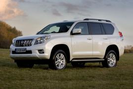 Car rental Toyota Land Cruiser Prado 150 from $21 per day