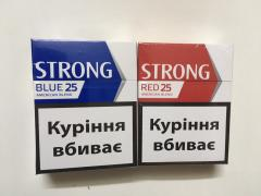 Cigarettes Strong (25), Blue, Red, ROYAL compact wholesale