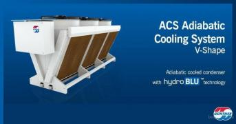 Dry and irrigated cooling towers (dry coolers), shockfrosters, air cooled