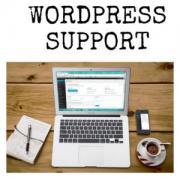 Maintenance and support of web sites