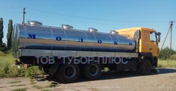 Production of milk trucks, tank trucks, water trucks, fish trucks