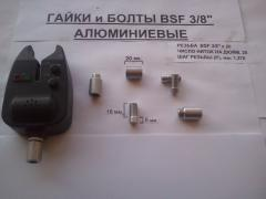 "Рибальська гайка, болт для Рід Пода BSF 3/8 ""(алюміній, сталь)"