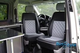 Тюнінг Внутрішній Переобладнання обшивка салону volkswagen transporter T5 Фолькс