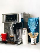 You buy coffee in the office and get a coffee maker for free